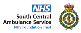 NHS South Central Ambulance Service logo - NHS Foundation Trust