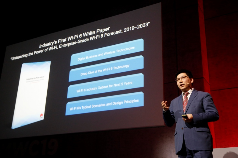 Steven Zhao, Campus Network Domain President, Huawei Data Communication Product Line