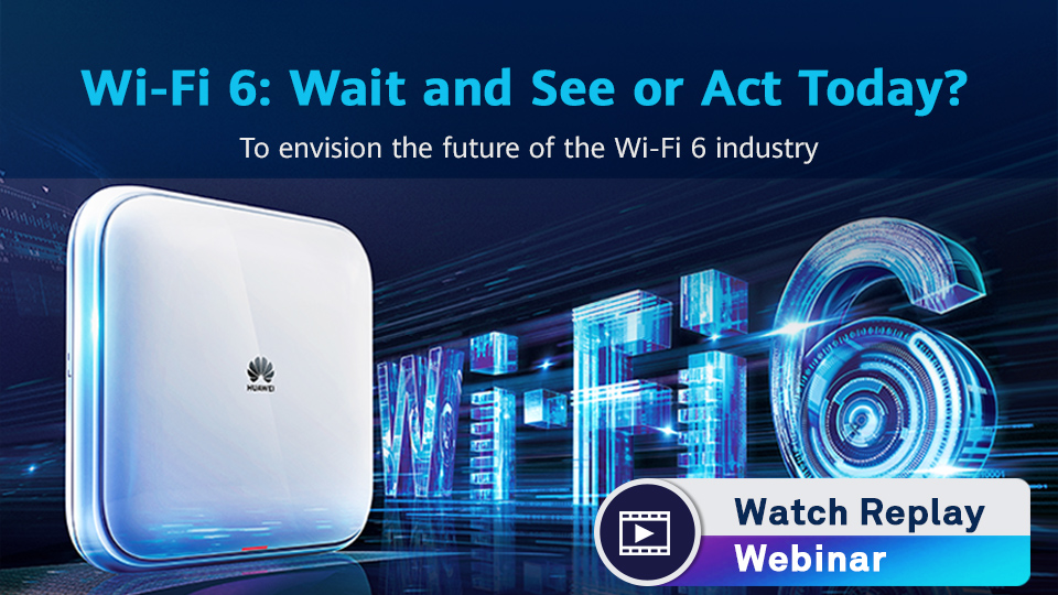 WiFi6 Webinar Watch Replay - vdo thumbnail