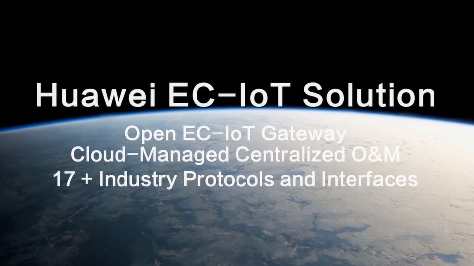 Huawei EC-IoT Solution