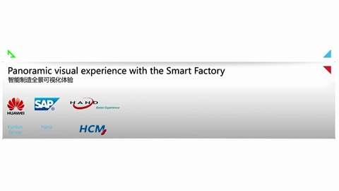 Panoramic Visual Experience with Smart Factory