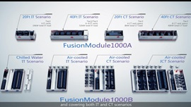 FusionModule1000 Prefabricated Data Center Solution Introduction Video