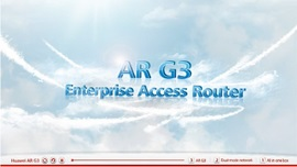 AR G3 Series Router Demo