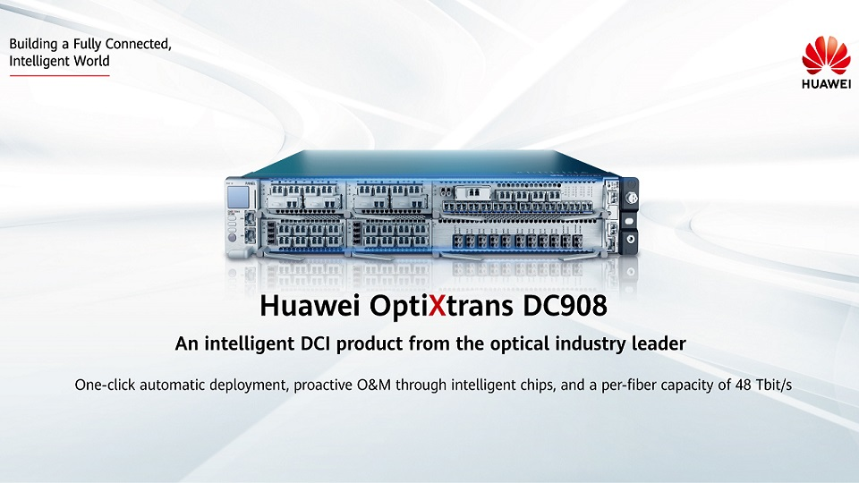 Simplified Deployment and Intelligent O&M of OptiXtrans DC908