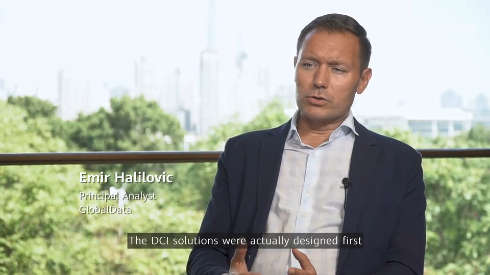 Emir Halilovic from GlobalData was sharing his opinion on  DCI market and Huawei OptiXtrans DC908