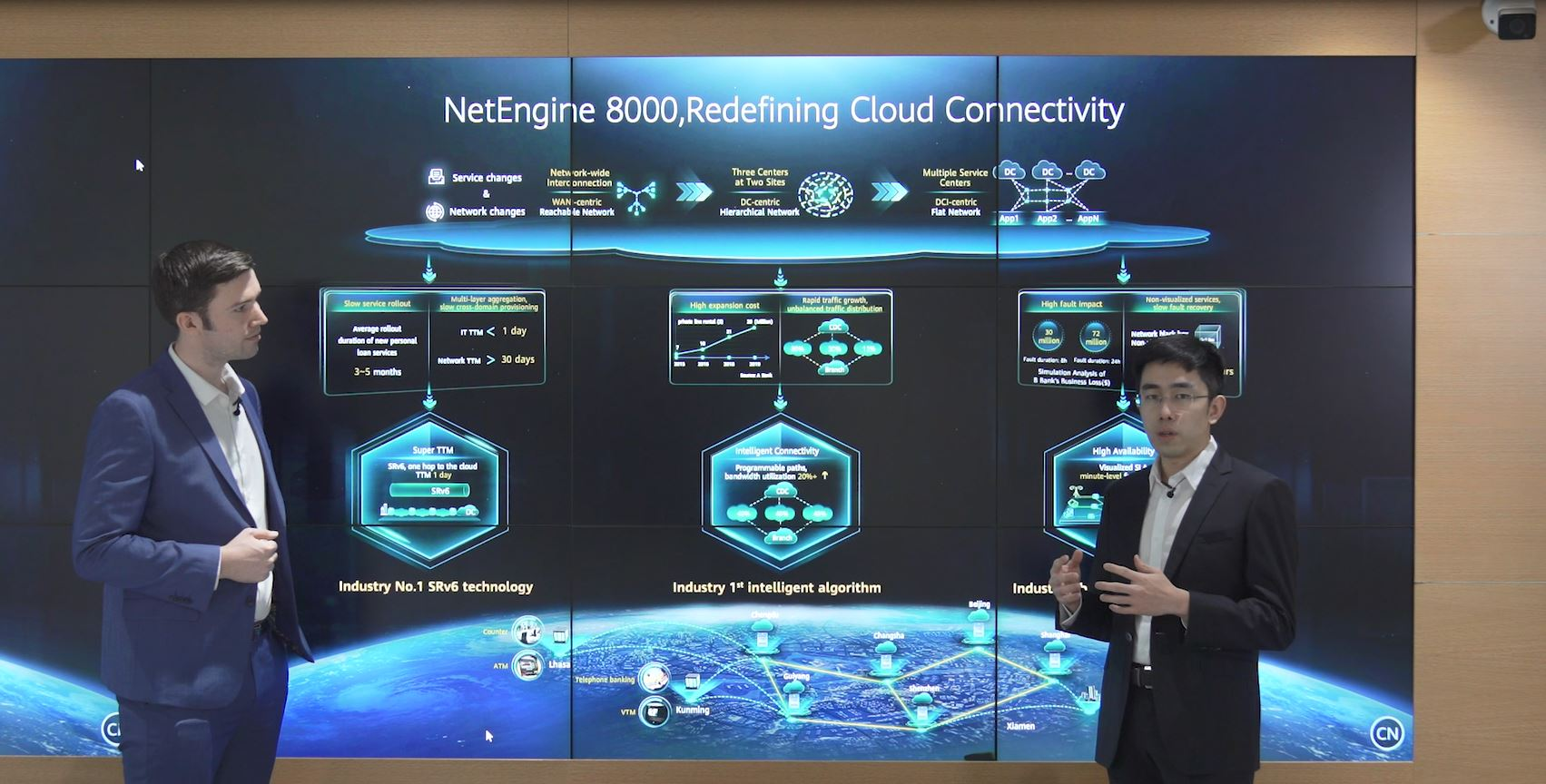 NetEngine 8000: Redefining Cloud Connectivity