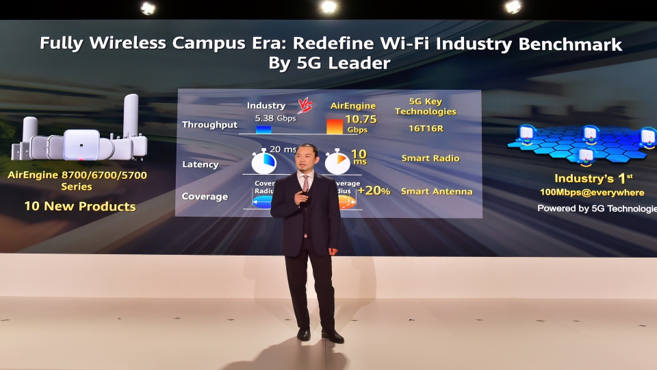 Huawei Launches AirEngine Wi-Fi 6 Products, Accelerating Entry into the Fully Wireless Campus Era for Enterprises