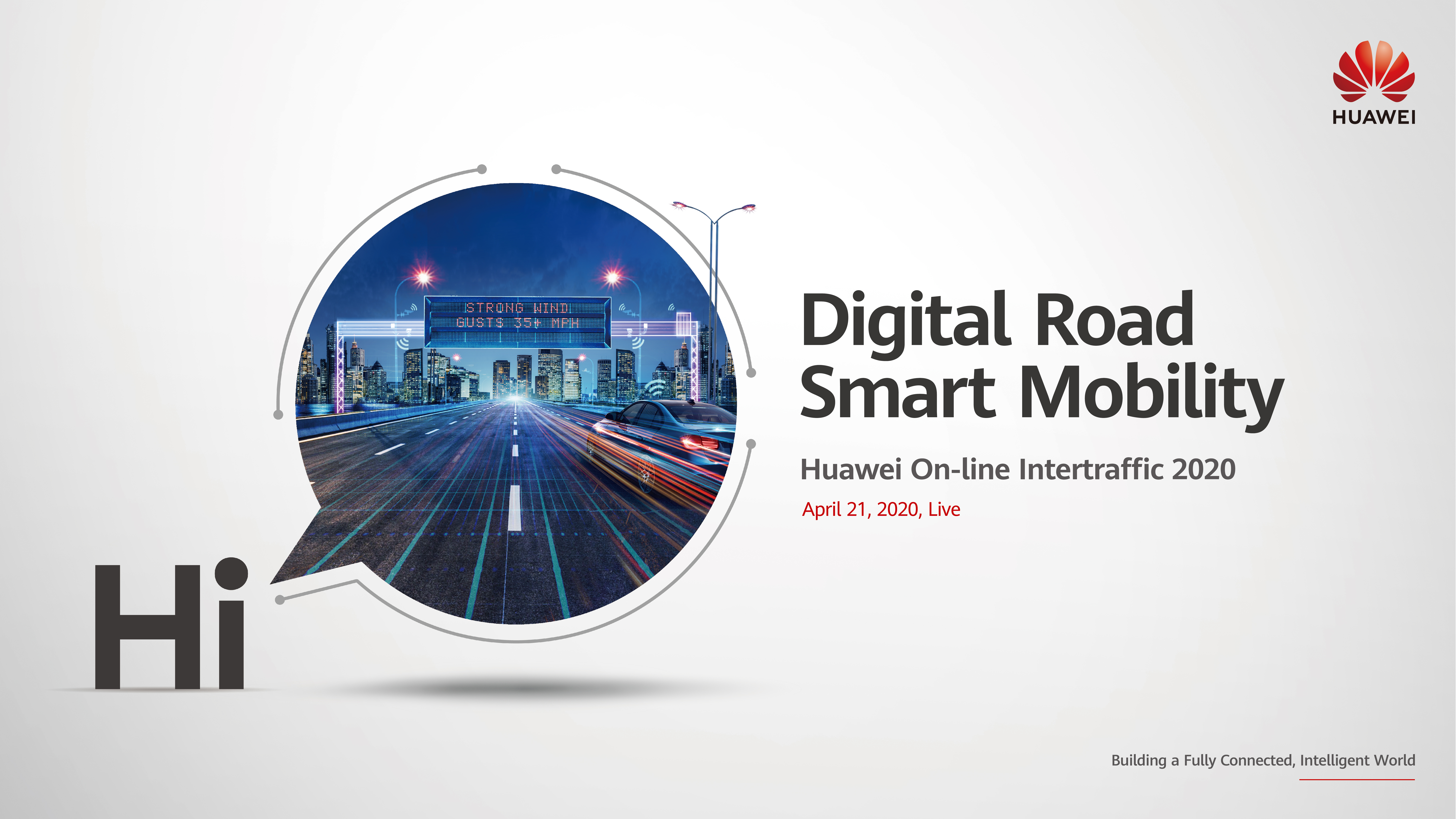 Huawei Online InterTraffic 2020