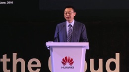 "HC2016 EBG Partner Summit Ma Yue ""Embracing the World, Leading New ICT""(I)-- Sustainable Growth"
