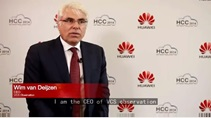 HCC 2014 Netherland VCS CEO talks about Huawei's eLTE Safe City Solution