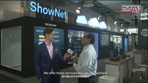 HUAWEI CONNECT 2016: Campus Network ShowNet Video