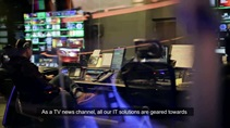 Huawei improves TV news production