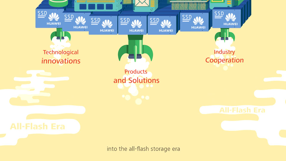 Innovative architecture and technology from Huawei for the era of Flash SSD storage for the enterprise