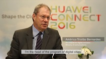 Huawei assists Brazilian government in moving to smart cities