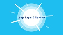 Large Layer 2 networks in data centers
