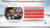 eLTE Broadband Trunking Solution Overview
