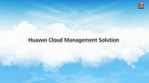 Cloud Management Solution Overview presentation (No audio)