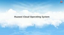 Huawei's intelligent open cloud operating system (No audio)